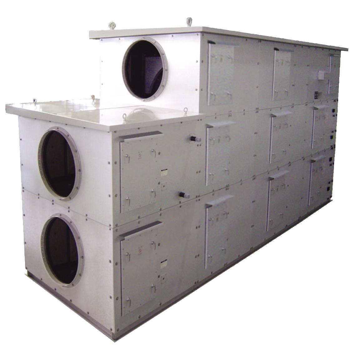 冷温水式リタンエアデシカント外気処理機/空調機 ラデック