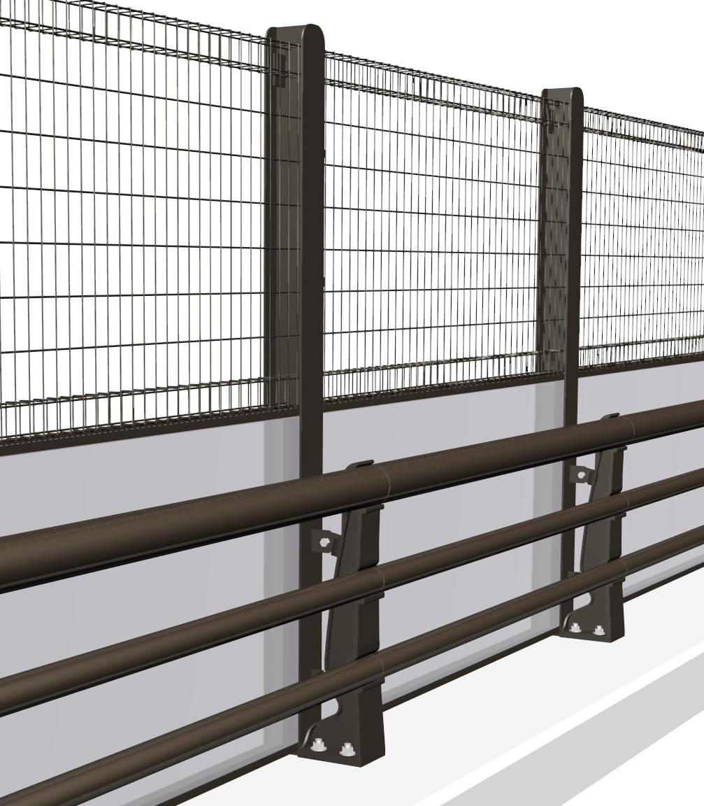 機能付防護柵
