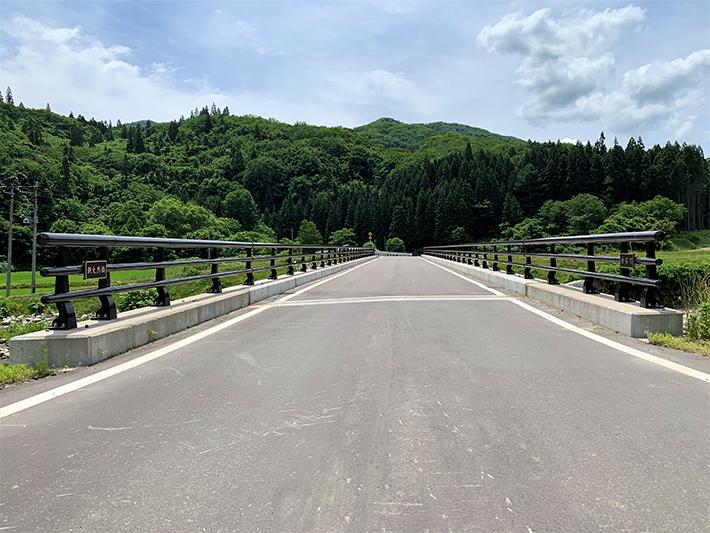 新大然橋【橋梁用防護柵】