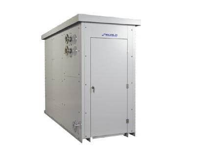 鋼板製ガス専焼ヒーターECALOシリーズ