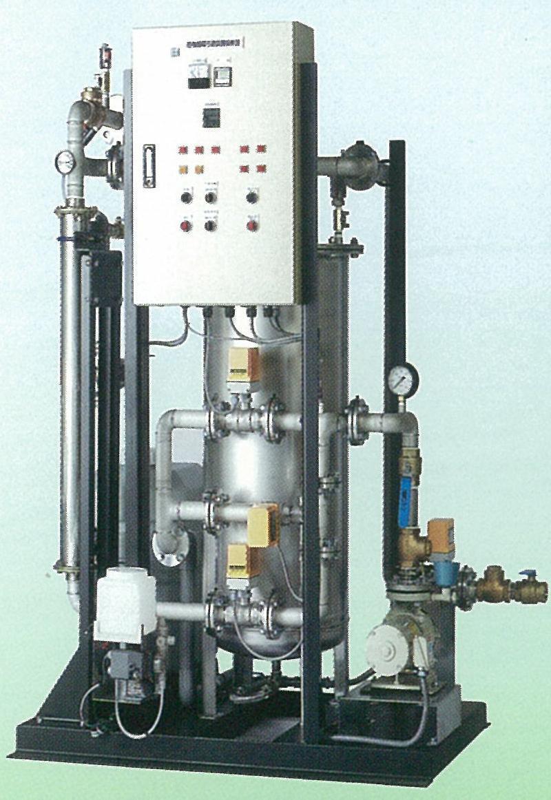 高温・高濃度洗浄機能付き循環ろ過装置
