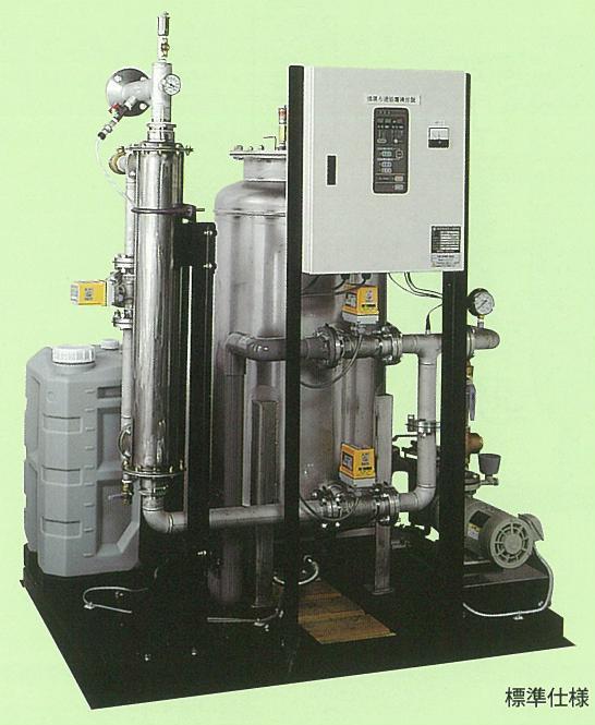 熱交換器付循環ろ過装置