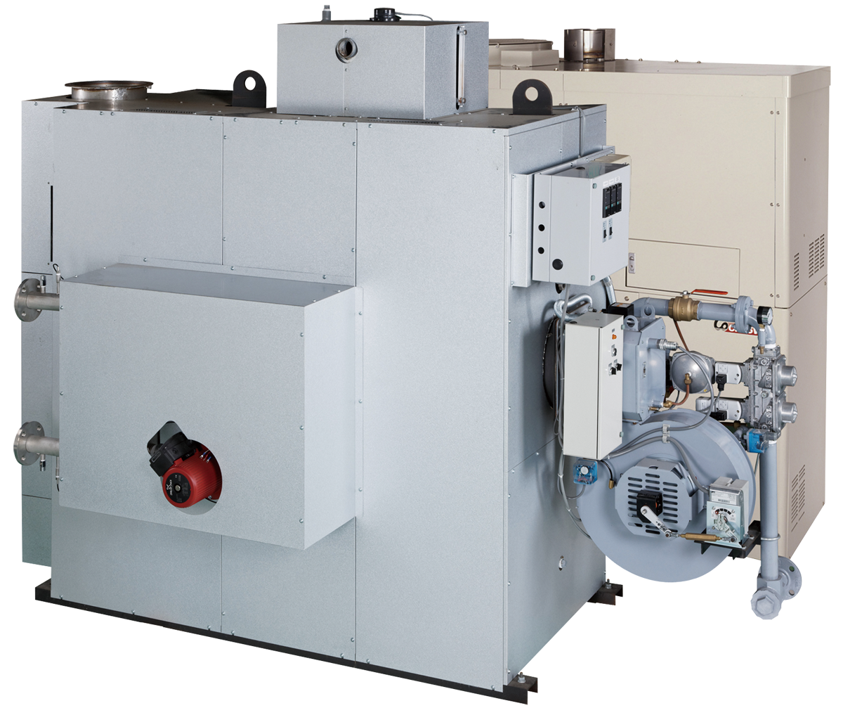 廃熱投入型潜熱回収ヒータージェネボ
